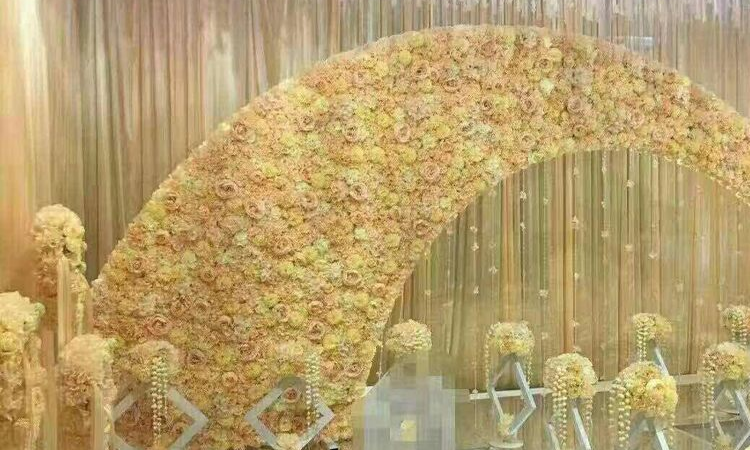 Dried Flower Arch and Backdrop