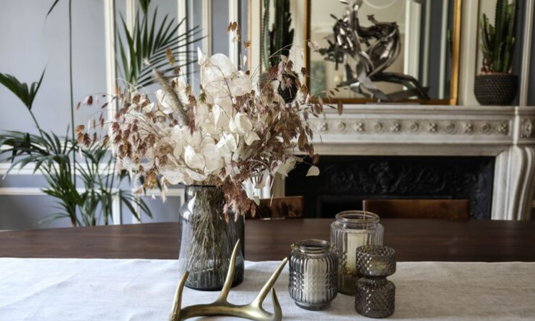 The use of Dried Flowers in interior designing-Designers Speak