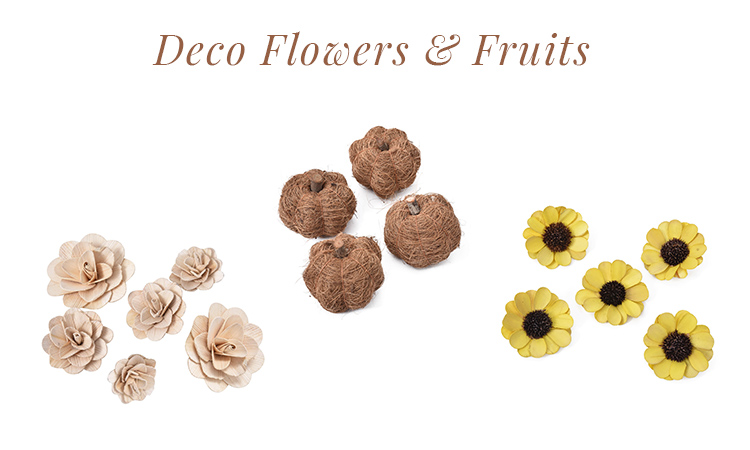 Deco Flowers & Fruits